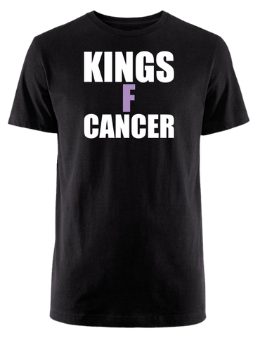 Los Angeles Kings HFC KINGSFCANCER T-Shirt - Black