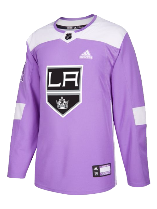 LA Kings Hockey Fights Cancer Authentic Practice Jersey – TEAM LA Store d9bcd4f66