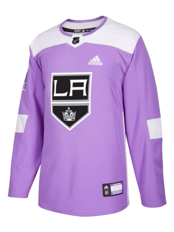 LA Kings Hockey Fights Cancer Authentic Practice Jersey