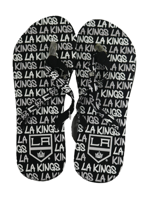 LA Kings Womens Flip Flop