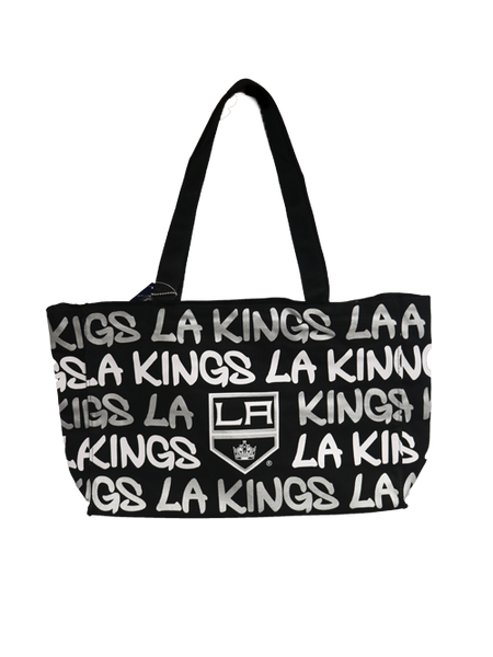 LA Kings Script Shoulder Medium Hobo Bag