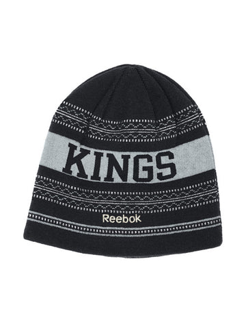 LA Kings Face Off Reversible Knit Cap