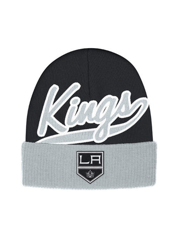 Los Angeles Kings Face Off Script Cuffed Knit Cap