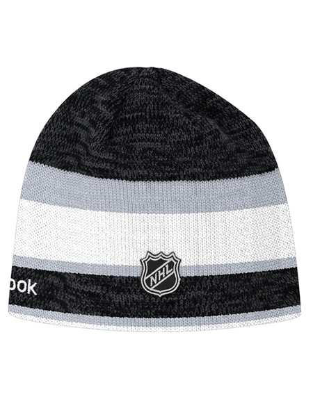 Los Angeles Kings Center Ice Team Striped Knit Beanie