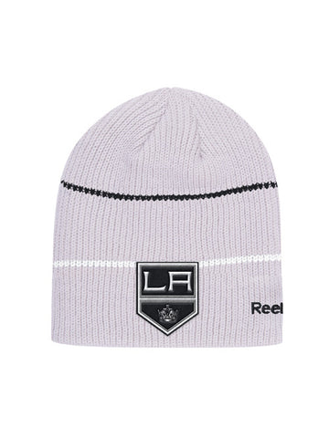 LA Kings Center Ice Travel & Training Ribbed Knit Cap