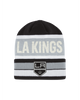 LA Kings Wordmark Stried Cuffed Beanie
