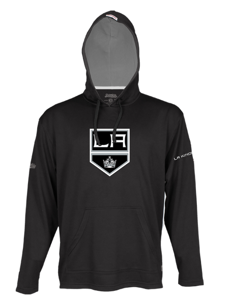 Los Angeles Kings Rib Mini Mesh Full Zip Hoodie