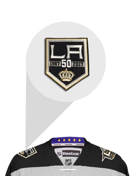 Los Angeles Kings 50th Anniversary Bailey Premier Jersey
