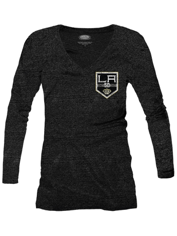 Los Angeles Kings Women's 50th Logo Long Sleeve T-Shirt