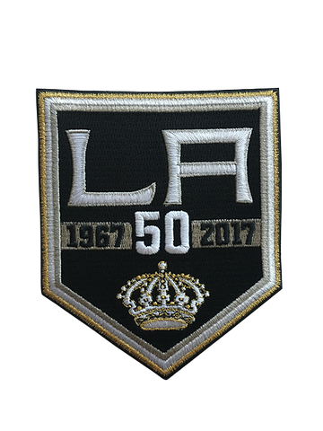 LA Kings 50th Anniversary Patch