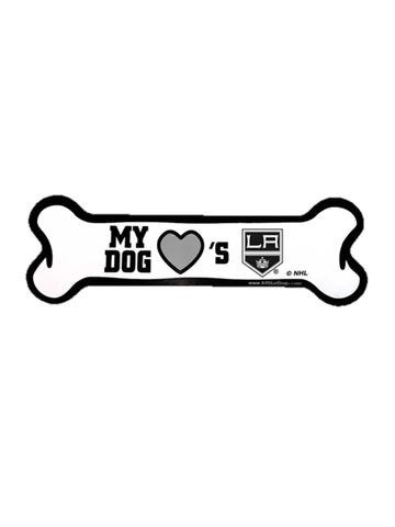 Los Angeles Kings Bone Car Magnet
