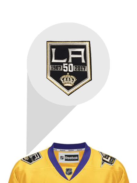 Los Angeles Kings Jonathan Quick 3rd Premier Jersey