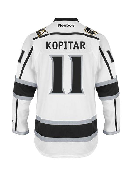 Los Angeles Kings Anze Kopitar Premier Road Jersey