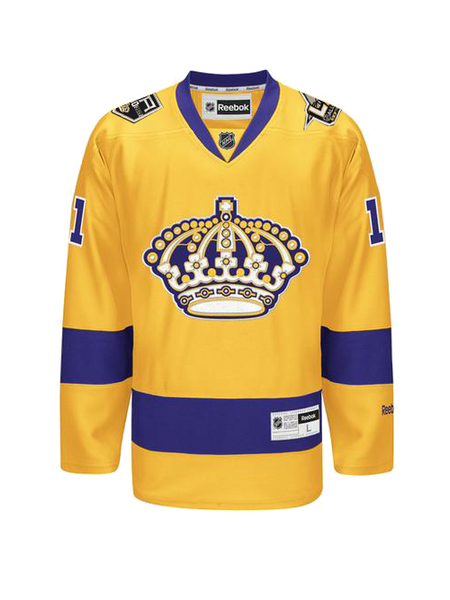 Los Angeles Kings Anze Kopitar 3rd Premier Jersey