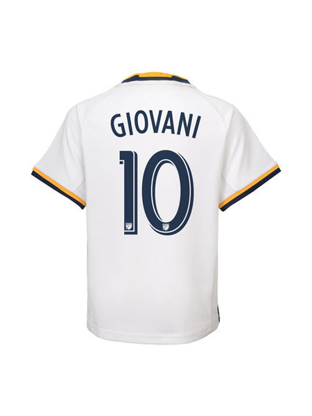 LA Galaxy Youth Giovani Dos Santos Replica Primary Jersey