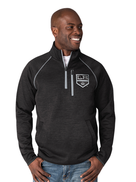 LA Kings Transitional Half Zip Pullover - Black