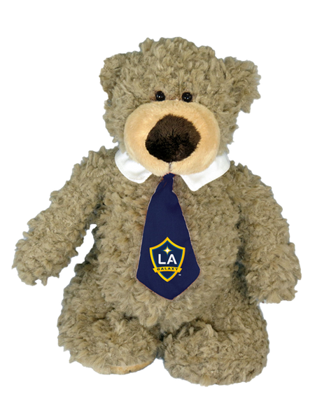 LA Galaxy Archie Bear with Tie Plush
