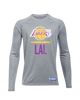 Los Angeles Lakers Combine Lock Up Long Sleeve T-Shirt