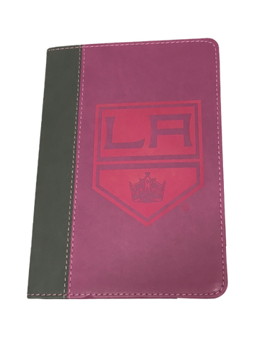 Los Angeles Kings Engraved Colored Journal - Pink