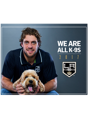 Los Angeles Kings We Are K-9s' Dog Calendar