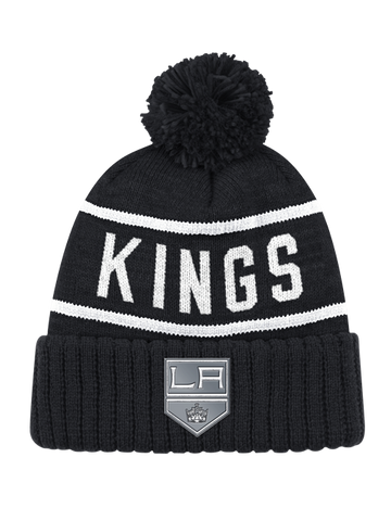 Los Angeles Kings Reflect Patch Shield Pom Knit