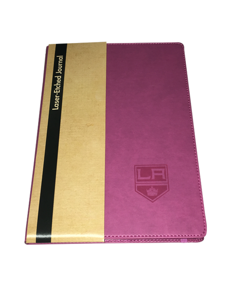 Los Angeles Kings Elastic Strap Journal - Pink