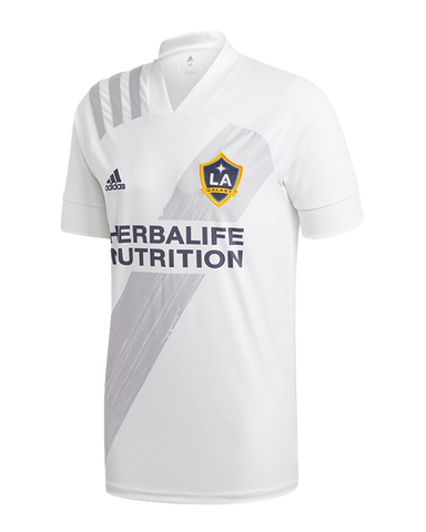 LA Galaxy adidas Men's 25th Season Celebration Replica Jersey - White