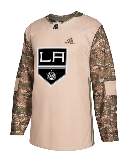 LA Kings Pro Authentic Camo Jersey