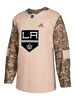 LA Kings 2017 Pro Authentic Camo Jersey
