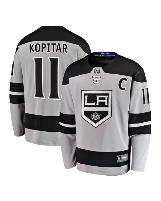 LA Kings Breakaway Anze Kopitar Alternate Jersey
