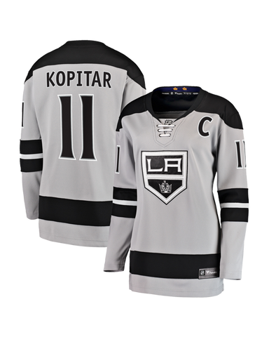 LA Kings Women's Anze Kopitar Breakaway Alternate Replica Jersey