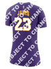Los Angeles Lakers Women's LeBron James Statement Edition Player T-Shirt