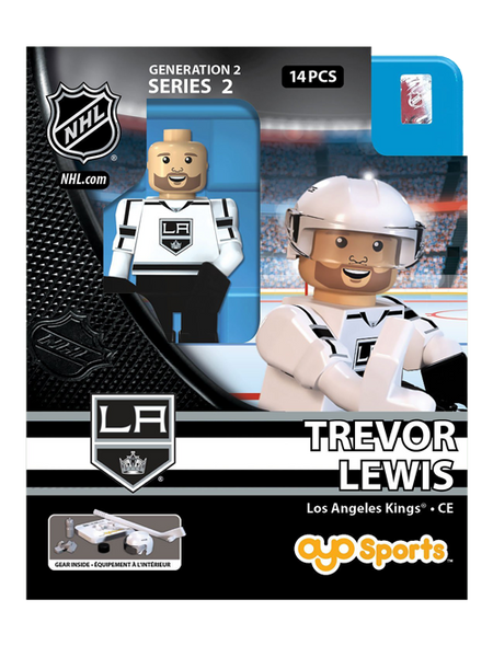 Los Angeles Kings Trevor Lewis Road OYO Figurine