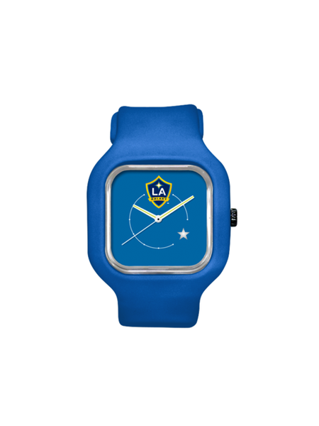 LA Galaxy Blue Face With Star Watch