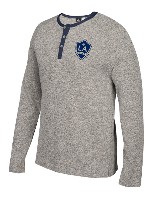 separation shoes 13c66 990d4 LA Galaxy Long Sleeve Henley