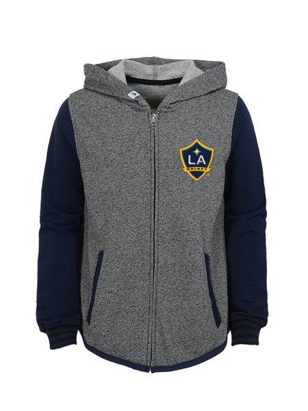 LA Galaxy Youth Full Zip Hood