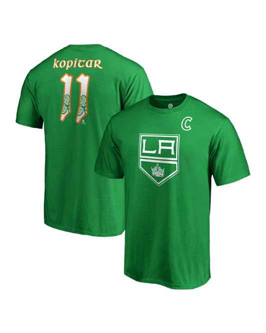 LA Kings Anze Kopitar St Patrick's T-Shirt