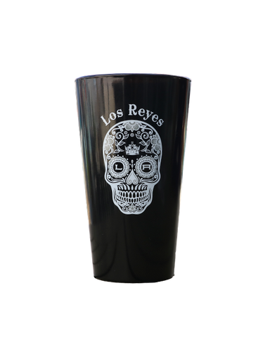 LA KINGS LOS REYES PINT GLASS