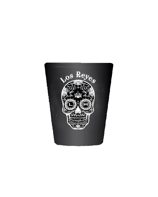 LA Kings Los Reyes Shot Glass Black