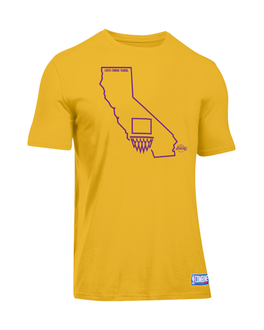 Los Angeles Lakers State Combine T-Shirt
