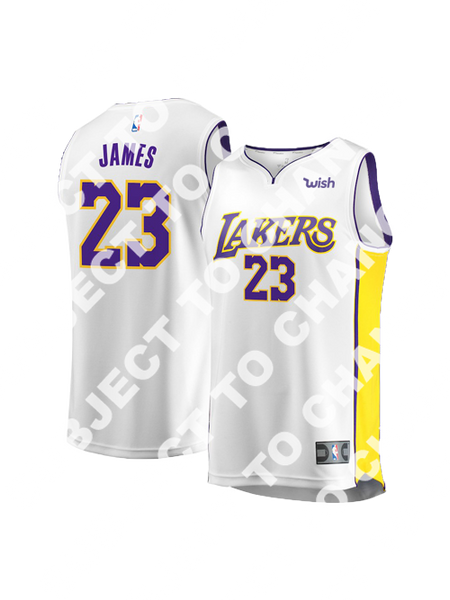 Los Angeles Lakers LeBron James Replica Jersey - White