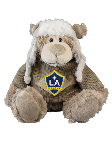 LA Galaxy Little Cozie Bear Plush