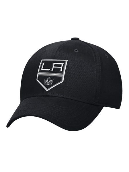 Los Angeles Kings Basic Shield Structured Flex Cap - Black