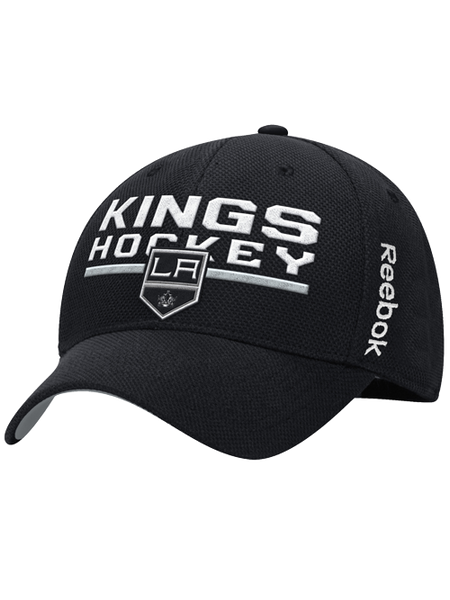 Los Angeles Kings Center Ice Locker Room Structured Flex Cap