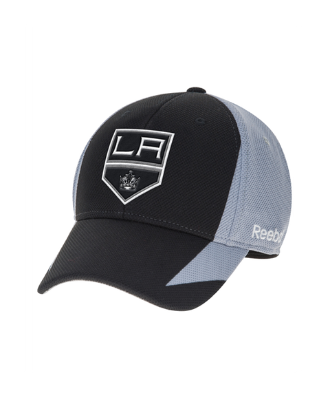 LA Kings Center Ice Practice Structured Flex Cap