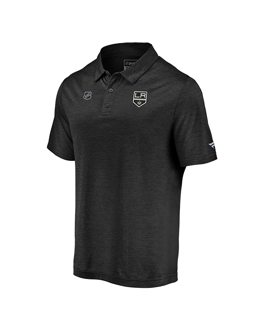 LA Kings Clutch Short Sleeve Polo - Black