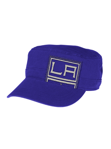 Los Angeles Kings Women's Adjustable Military Cap