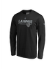 LA Kings Authentic Pro Prime Stack Long Sleeve Tee - Black/Grey