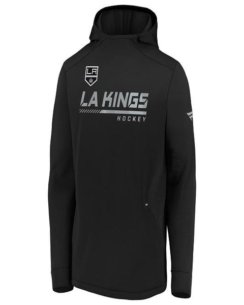 LA Kings Authentic Pro Locker Room Pullover Hoodie