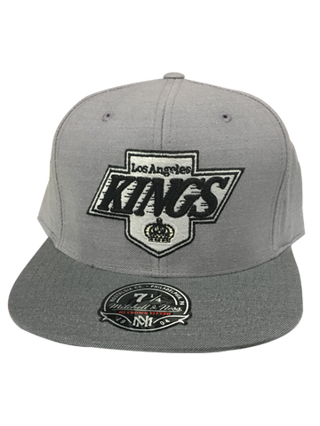 Los Angeles Kings Heather Profile High Crown Fitted Cap
